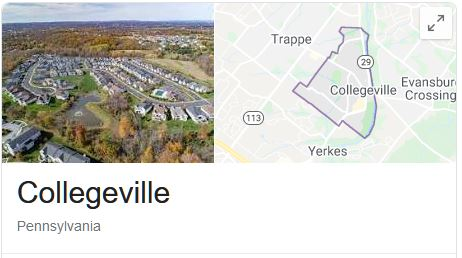 Collegeville Locksmith Services Areas