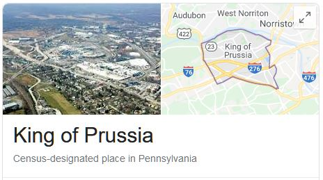 King of Prussia Locksmith Services Areas