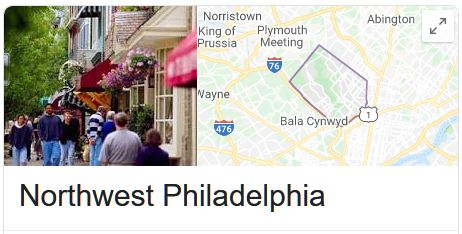 Northwest Philadelphia Locksmith Services Area