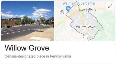 Willow Grove Locksmith Services Area